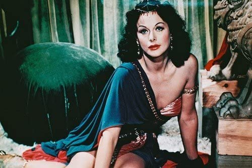Hedy Lamarr Cleavage Pose Sitting on Rug Samson and Delilah 11x17 ...