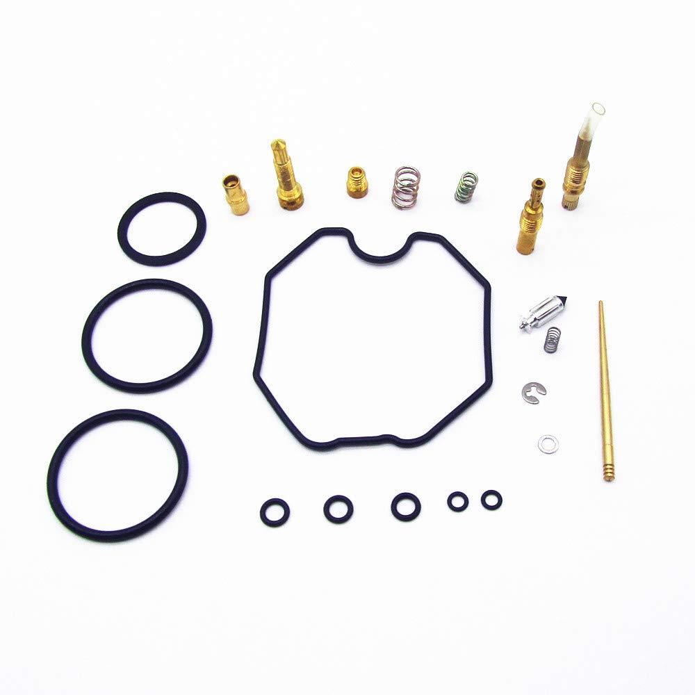 CQYD New Carb Repair Carburetor Rebuild Kit for 1997-2005 Honda TRX 250