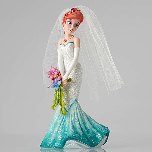 Enesco Disney Showcase Ariel Wedding Stone Resin Princess Figurine