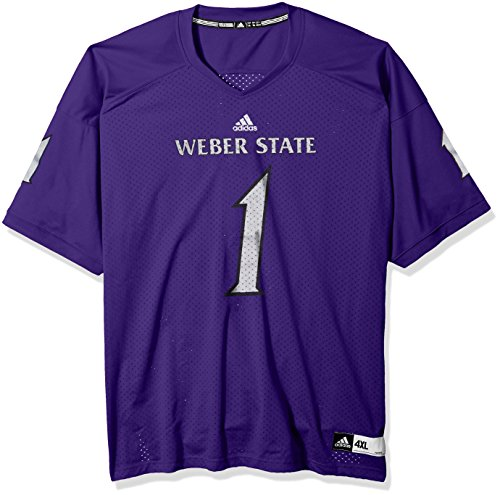 adidas NCAA Weber State Wildcats Mens Chwes1 Weber St U Webesm Chase Jersey, Collegiate Purple, Medium