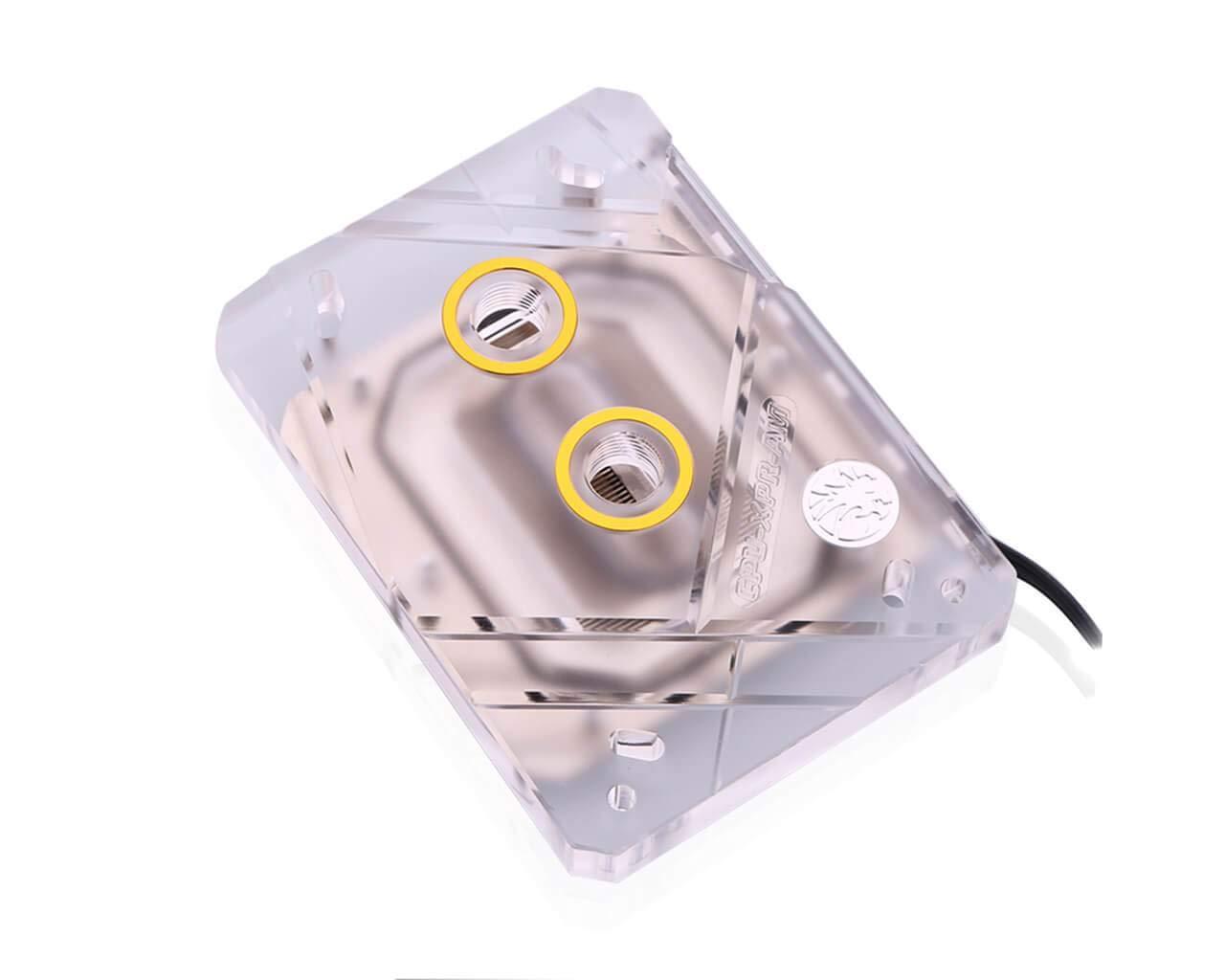 Bykski CPU-XPR-AM-V2 CPU Water Cooling Block - Clear (AM2 / AM3 / AM4)