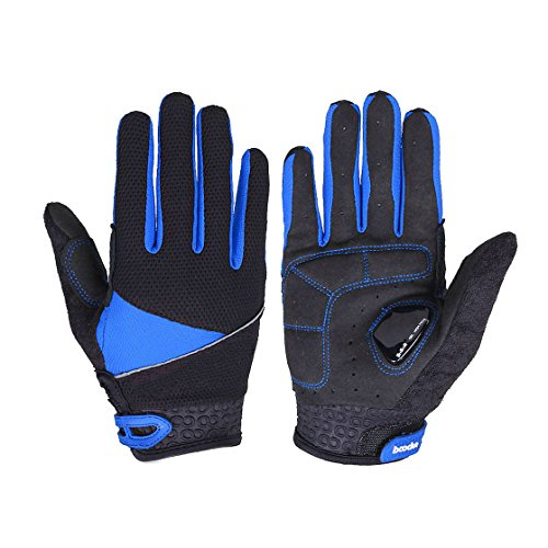Gotaout Blue Mesh Durable Protective Cycling Gloves Size XL