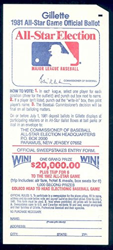 1981-gillette-all-star-game-official-baseball-mlb-ballot