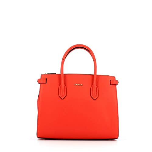 FURLA Borsa Shopping Pin S KISS f: Amazon.it: Scarpe e borse