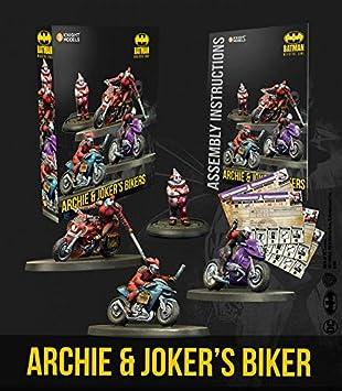 Knight Models Juego de Mesa - Miniaturas Resina DC Comics Superheroe - Batman Archie and Jokers Bikers: Amazon.es: Juguetes y juegos