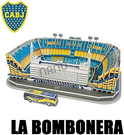 Bombonera Stadium Boca Jr. Argentina Soccer 3D Puzzle Nanostad: Amazon.es: Deportes y aire libre