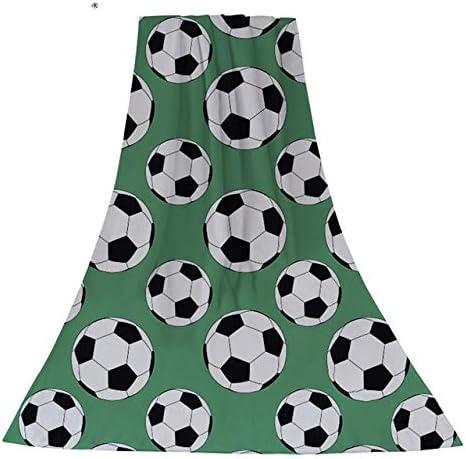 ZheQR Cool Home Textile Toallas de Playa Fútbol Fútbol Estampado ...