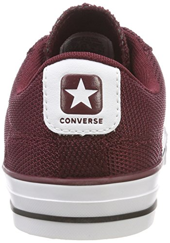 Dark Converse Burgundy Ox Unisex Player white Star Sneaker qzrzgwt