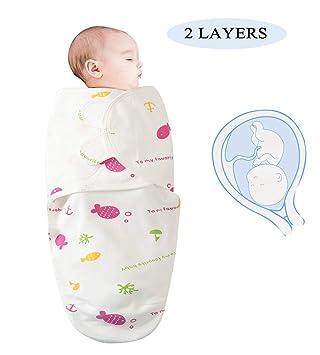 Newborn Baby Cotton Baby Infant Swaddle Wrap Blanket Sleeping Bag Bedding 0-6M