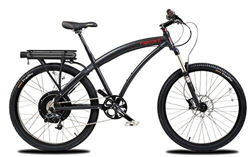 Where to buy ProdecoTech Phantom X3 V5 36V500W 8 Speed Electric Bicycle 11Ah Samsung Li-Ion, Matte Black, 18″/One Size
