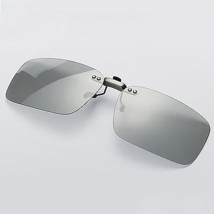 Meetyou Clips Invisibles De Color Polarizado Gafas Resistentes A Los Rayos UV Que Cambian De Color