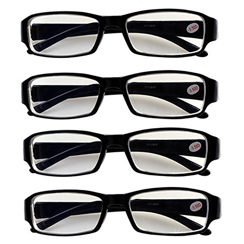 4 PRS Nearsighted Shortsighted Myopia Glasses -1.50 Strength New! **These are not reading - Reading New Glasses