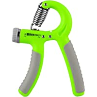 Axifo Hand Grip Strengthener Workout, Hand Exerciser Strength Trainer Adjustable Resistance Range 22-88Lbs Non-Slip Gripper for Athletes Pianists Kids Hand Rehabilitation Exercising