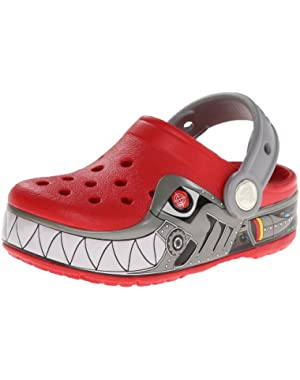 Kids' Robo Shark Light-Up Clog