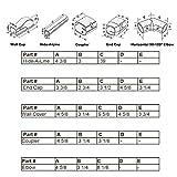 """4"""" 14 Ft Line Set Cover Kit for Mini Split Air"""