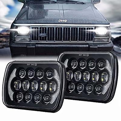 5x7 7x6 Inch LED Rectangular LED Headlight