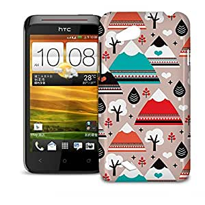 Phone Case For HTC Desire VC T328D - South Western Mountain Ranges Glossy Designer