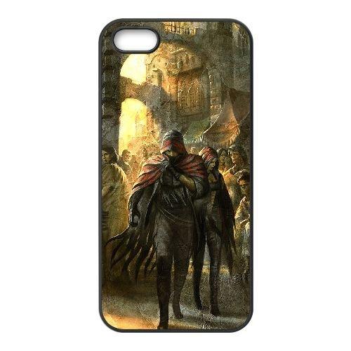 J5K39 Soul Sacrifice K3G4TO coque iPhone 4 4s cellulaire cas de téléphone couvercle coque noire SD6JGK4OF