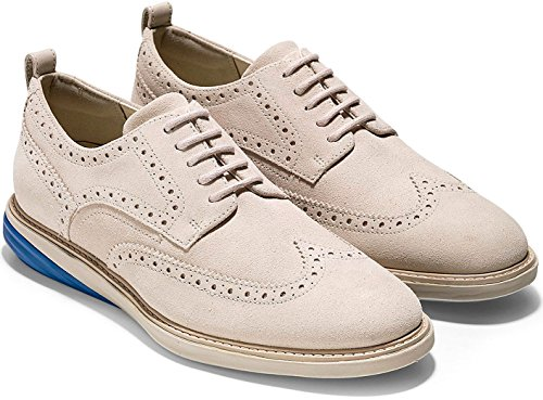 Cole Haan Men's Grand Evolution Shortwing Pumice Stone Suede/Limoges/Pumice 11.5 D US