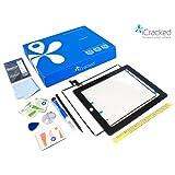 iCracked iPad 2 Premium Screen Replacement & Repair Kit (Black)