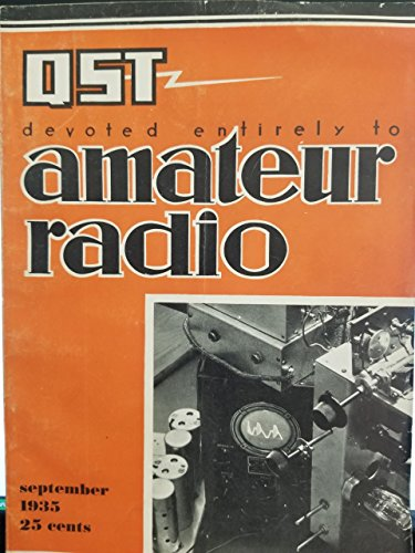 QST MAGAZINE DEVOTED ENTIRELY TO AMATEUR RADIO SEPTEMBER for sale  Delivered anywhere in USA