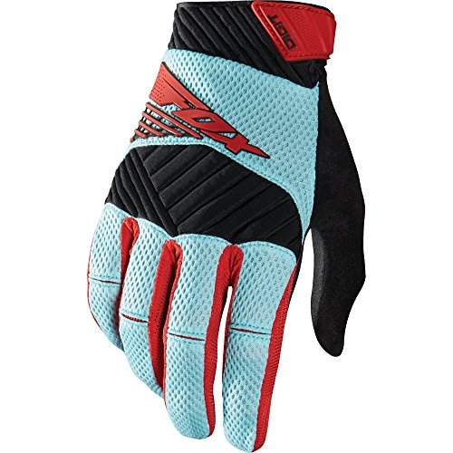 Digit Fox Racing Bikes Full Finger Gloves (Stars Off Road Goggles)