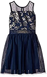Girls Party Dress with Sequins