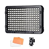 Tolifo PT-176S 176 Led Video Light Panel Ultra Bright Dimmable Video Light 3200K/5600K Color Temperature Canon Nikon DSLR Camera (Tolifo PT-176S)