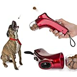 Coolrunner Pet Treat Launcher Training dog food catapult auto pets food thrower puppy Snacks Feeder