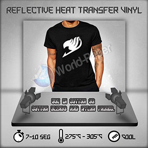Reflective HTV Heat Transfer Vinyl 20' Roll (5 Feet)