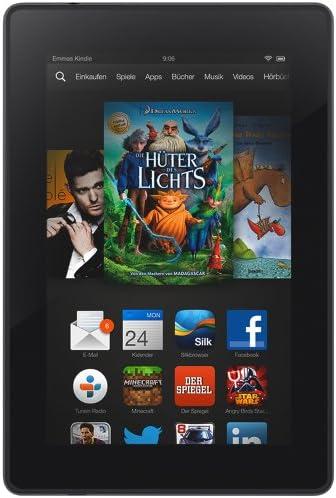 Kindle Fire Hd 7 17 Cm 7 Zoll Hd Display Wlan 8 Gb Mit Spezialangeboten Vorgängermodell 3 Generation Amazon Devices
