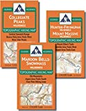 Aspen Area Hiking Map Pack: Maroon Bells-Snowmass, Hunter-Fryingpan, Mount Massive, Collegiate Peaks