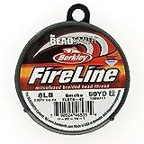 Beadsmith Fireline - Braided Bead Thread - Smoke - 50 Yards (8lb Test)