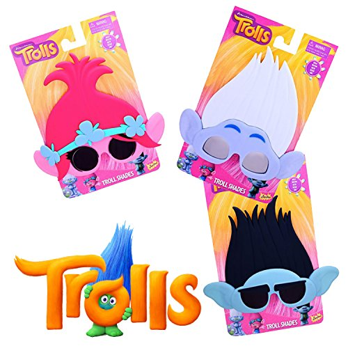 Dreamworks Trolls Movie Sunglasses Party - Sunglasses Chicos