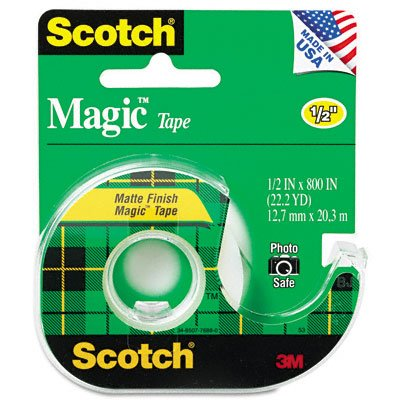 MMM119 - Scotch Magic Tape w/Refillable Dispenser