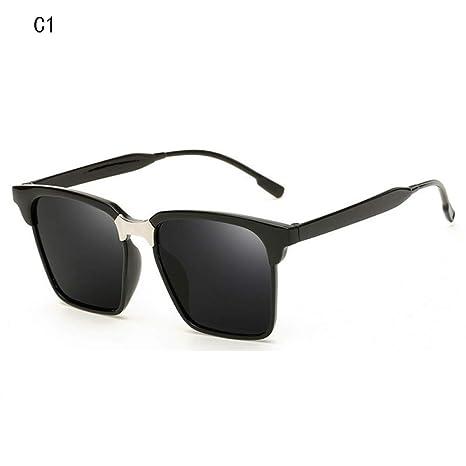 Giow Gafas de Sol Retro Gafas de Sol cuadradas pequeñas ...