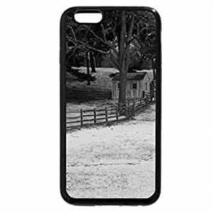 iPhone 6S Case, iPhone 6 Case (Black & White) - Horse