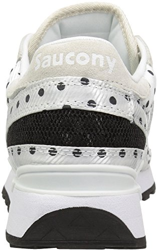Originali Da Donna Womens Shadow Original Cl Polka Dot Sneaker Bianco / Nero