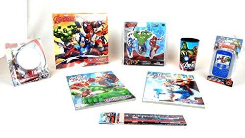 [Iron Man Hulk Marvel Avengers 8 pc Super Heroes Action Figure Activity Gift Set Bundle Marvel] (Jelly Bean Costumes For Babies)