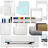 Silhouette Curio Crafting Machine with Lots of Accessories! Including Large 12 Inch By 8.5 Inch Base, Etching, Stippling, Sketching, Emboss, and More Bundle