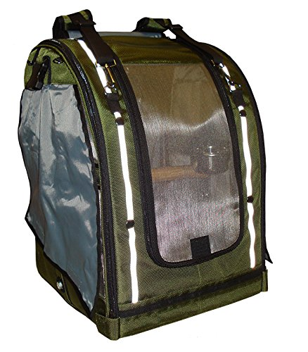 Celltei Pak-o-Bird - Olive color with Stainless Steel mesh - Medium Size