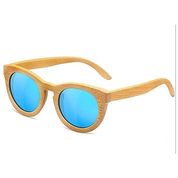 Qifengshop Gafas de Sol polarizadas para Mujer, Madera de ...
