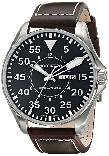 Hamilton watch Khaki Pilot Auto 46mm H64715535 Men's