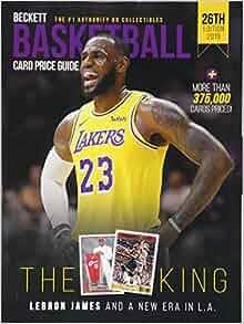 Beckett Basketball Card Price Guide 2019 (Beckett