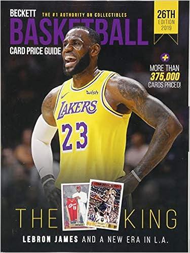 Beckett Basketball Card Price Guide 2019 (Beckett Basketball Price
