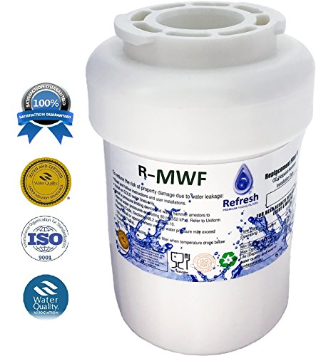 GE MWF SmartWater Compatible Refrigerator Water Filter fits for MWFA, MWFP, GWF, GWFA, Kenmore 9991,46-9991, 469991