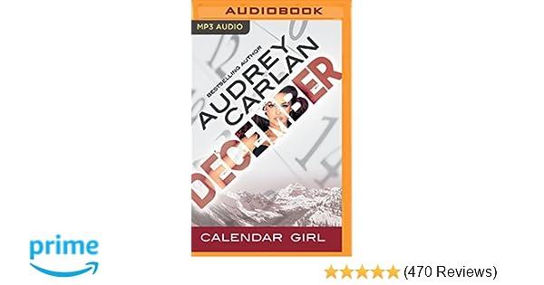 December Calendar Girl Audrey Carlan Summer Morton Zachary