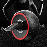 Lannmart Sound Proof Anti-Noise Roller Abdomen Power Roller Round Abdominal Wheel Muscle Exercise Training Wheel