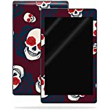 MightySkins Skin Amazon Kindle Fire HD 10 (2017) - Skulls N Roses | Protective, Durable Unique Vinyl Decal wrap Cover | Easy to Apply, Remove Change Styles | Made in The USA
