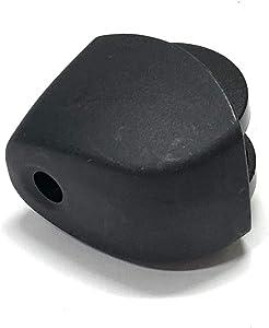 OEM Delonghi Room Heater Foot Caster Wheel Originally For Delonghi EW7507EBK, EW7507EBM, 6708EK, EW7507EK, EW7707CBA, EW7507EBL